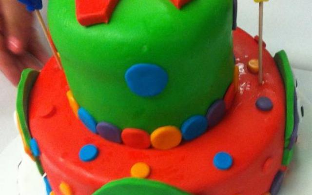 TMNT Birthday Cake Sugarpaste