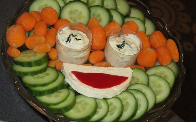 Πιατέλα φρέσκων λαχανικών σε σχήμα Χελωνονιντζάκι! Ο Μικελάντζελο στα νοστιμότερ